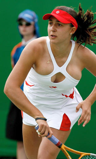 I am sure you like my choice of tennis outfit.  You like my English?